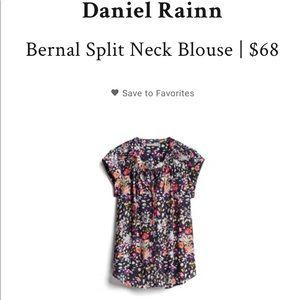 NWT Daniel Rainn for Stitch Fix Blouse Size Small!